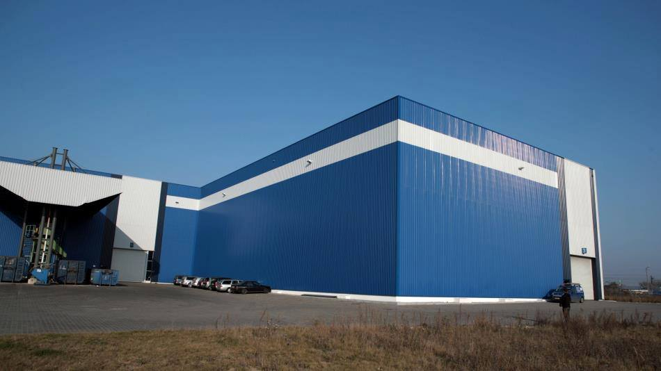 EXPANSION OF THE STORAGE HALL FOR THE COMPANY GONVARRI IN WRZEŚNIA