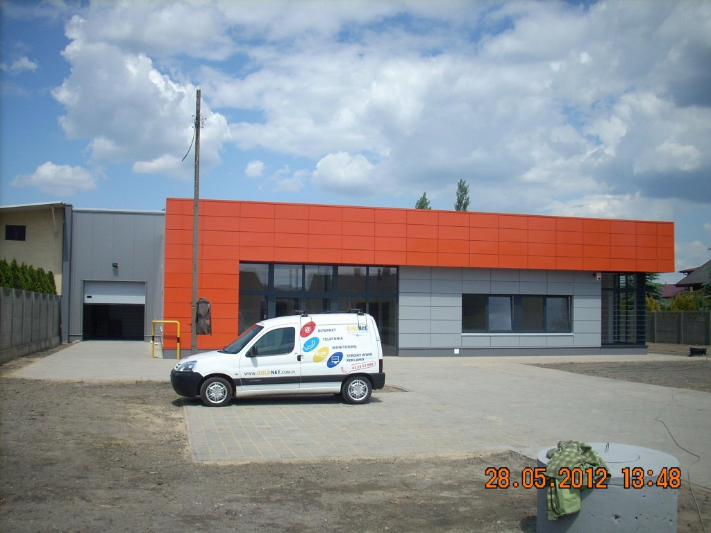 STORAGE HALL WITH OFFICE SPACE IN WOLA ZARADZYŃSKA NEAR PABIANICE