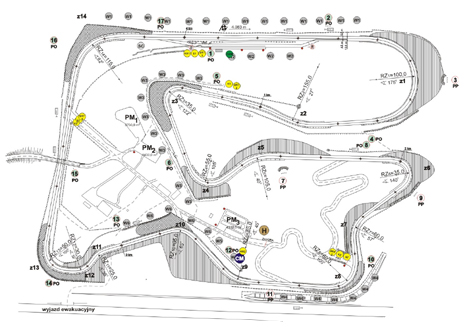 SAFETY PLAN FOR THE RACE TRACK POZNAN FOR THE FIA APPROVAL