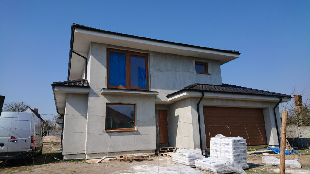 Single family house in Lusowko